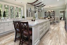 Stunning Kitchens / Wall and floor coverings for your kitchen.
