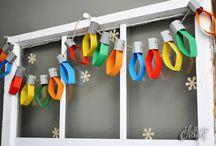 kid christmas crafts/decorations