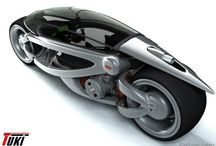 Concept two wheel car