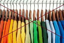 Maneiras corretas de organizar camisetas