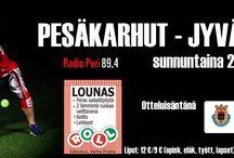 Ottelmainos Pesäkarhut vs. Kirittäret 29.6.2014 / Ottelmainos