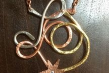 Miro Series - Sterling, Copper, Brass, etc / by Eureka Janet ~ Jewelry featuring Powder Coating