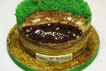 dino cakes + ideas