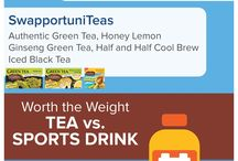 Celestial SwapportuniTeas Infographic / Celestial Seasonings teas are better-tasting, better-for-you beverages. Learn more about SwapportuniTeas!
