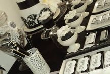 Black & White party ideas