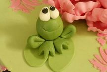 Frog cakes/cupcakes