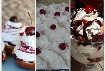 Gyümölcsös sütik, krémek