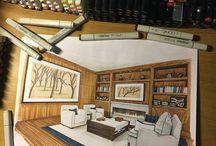 Interior Sketches