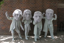 Mount Rushmore Mascots / Check out Rapid City South Dakota's Mount Rushmore #Mascots! They represent the four presidents on Mount Rushmore National Memorial - Washington, Jefferson, Roosevelt, and Lincoln.