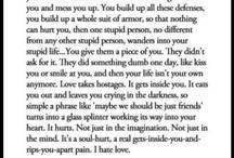 Words  / by Patricia Kirinkov