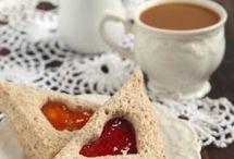 Tea Sandwiches and Crostini