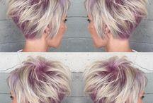 modèle de coiffure