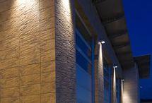 Pilaster lighting