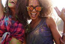 Festival Inspo / Festival Makeup, Hair & Fashion