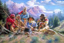 Old Abe / Mountain Man Fur Trader Injuns