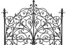 wrought iron art