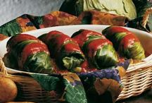stuffed cabbage leaves with beef