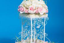 Dekoracja na stół weselny