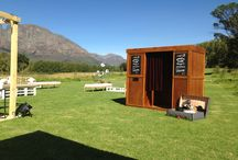 Photo Booth Fun / Some places our vintage wooden photo booth called Crea-tif Photo Booth has been in the Western Cape..