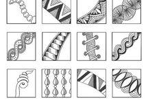 Zentangle Desenler