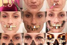 speciális arcfestés