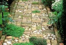 Jardín en mosaico