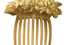 Lalique / Art Nouveau - hair combs