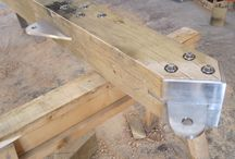 steel joints for wood