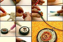 papírové tkaní a pletení