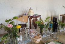 {Real Wedding} Henrietta & Craig / www.ohsoperfect.co.uk Vintage DIY mix match barn wedding in Spring
