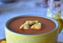 soupes salées froides