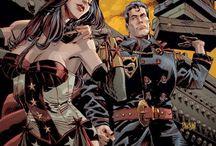 Súper Héroes SteamPunk / El SteamPunk está de moda desde hace varios años, lo que llevado a transformar o reinventar iconos del cine, de la tv, de la literatura y, he incluso (algo que no puede faltar), los cómics.  Los personajes son transformados a un pasado híper-tecnológico victoriano que nunca existió.