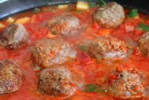 Grain free pales meatballs / Healthy
