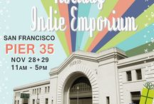 Saturday In San Francisco / Follow my partner in crime and I as we shop until we drop at the Etsy Holiday Emporium at Pier 35 on November 28th