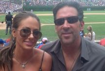 Television sports show host, Erik Kuselias wife's pictures