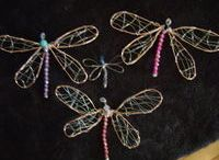 Wire-Dragonfly / Wire dragonfly / by Sue Doindigital