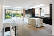 Hampstead-Interior Design- fireplace/kitchen/bathroom/staircase / Interiors