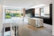Hampstead-Interior Design- fireplace/kitchen/bathroom/staircase / Interiors