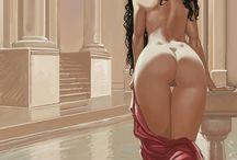 Classic ART Woman 1