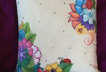 bolsas pintadas a mano