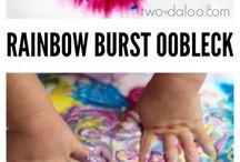 over the rainbow activites - work