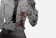 Black n White Manga shots