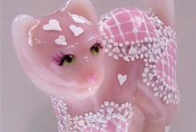 Fenton Glass Animals & Christmas Figurines