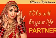 rishton ka sansar / Rishtonkasansar.com is known as the Most Trusted Matrimony Company combining tradition and technology. Rishtonkasansar has been trusted since 1993 by people all over India to help, finding their soulmates.
