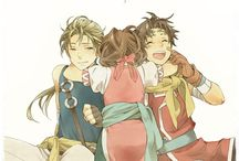 Suikoden 2 / Knowing that this game is one of the best of ever made fills you with determination