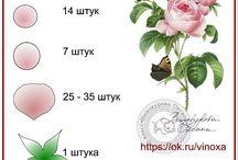foamiranowe kwiaty