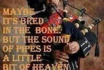 Bagpipes / Pipe bands, music scores for bagpipes, drum scores for pipe band drummers