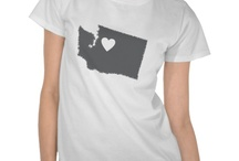 State Outline Heart Shirt Series