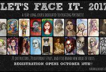 Let's Face It 2017 Art Class