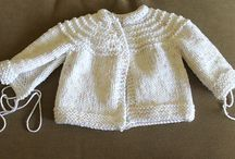 Baby knitted jackets